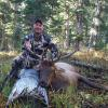 Mike Tablack with his 5X5 elk from Colorado.