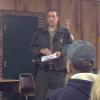 Game Warden, Jesse Janosik visits a club meeting.